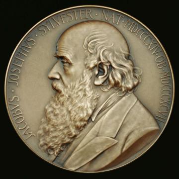 From https://royalsociety.org/awards/sylvester-medal/
