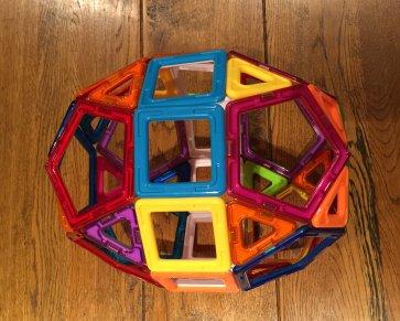 Elongated pentagonal birotunda