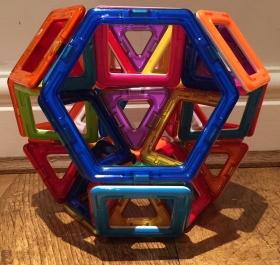 Drilled truncated octahedron