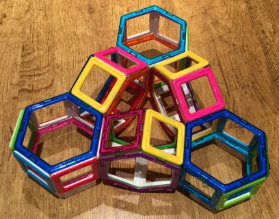 Ring of hexagonal prisms