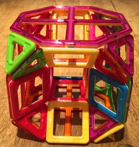 Excavated truncated cube