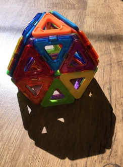 Tiled truncated tetrahedron