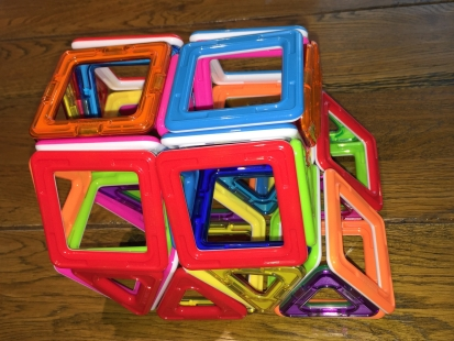 Gyrated triangular prismatic honeycomb