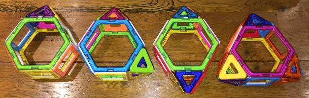 Augmented hexagonal prisms