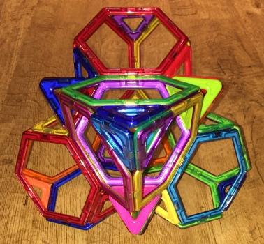 Truncated hypertetrahedron net