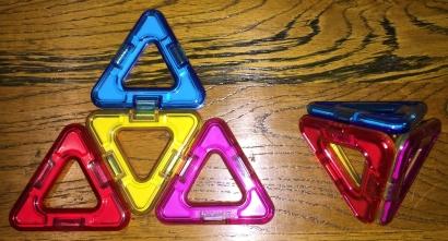 Tetrahedron and net