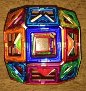 A Tunnelled Biaugmented Truncated Cube (from the end)