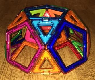 A tunnelled pentagonal rotunda (side view)