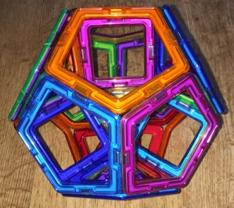 Decomposition of Dedocahedron (front view)